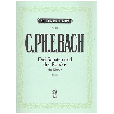 Bach, C.Ph.E.: Klaviersonaten nebst einigen Rondos Wq 57