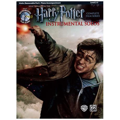 Harry Potter Instrumental Solos for Violin (+MP-3CD)