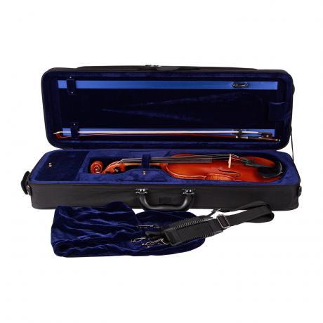PACATO Sports Travel Violinkoffer 4/4 | schwarz/blau