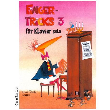 Takeda-Caspers, T.: Fingertricks Band 3