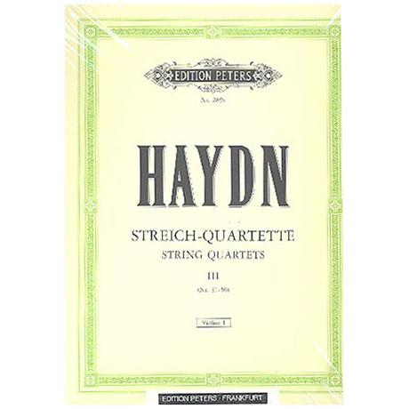 Haydn, J.: Streichquartette Band 3: op. 9/1, 9/3-6, 17/1-4, 17/6, 42, 50/1-5, 55/1-3, 64/1