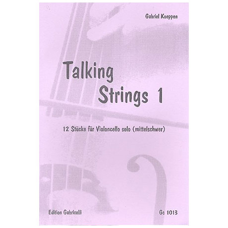 Koeppen, G.: Talking Strings – Band 1