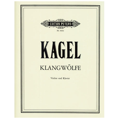 Kagel, M.: Klangwölfe