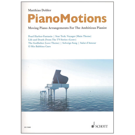 Dobler, M.: PianoMotions für Klavier