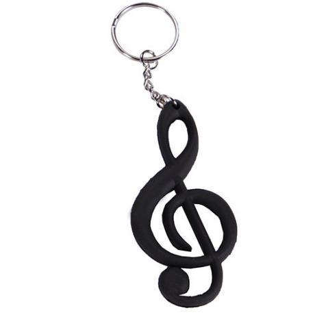 Schlüsselanhänger key schwarz