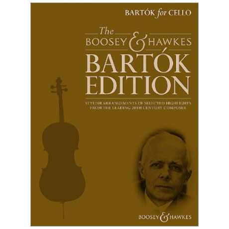 Bartók, B.: Bartók for Cello (+CD)