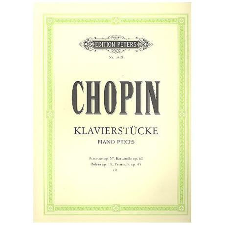 Chopin, F.: Klavierstücke