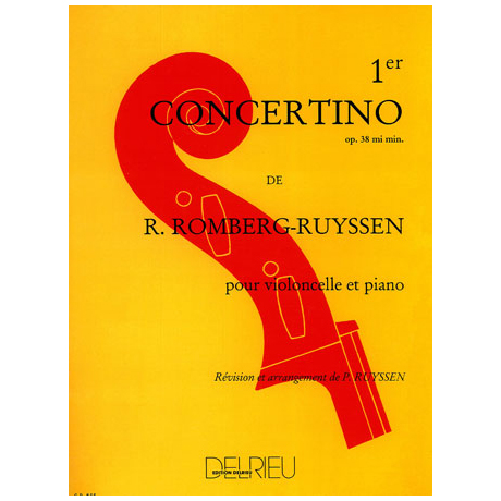 Romberg, B.: Concertino Nr. 1 Op. 38 e-Moll