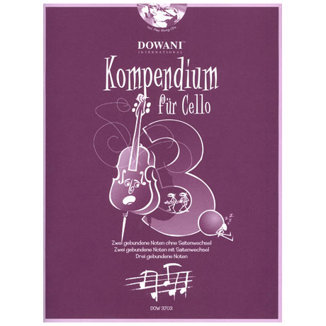 Kompendium für Cello - Band 3 (+CD)