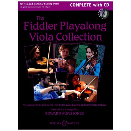 The Fiddler Playalong Viola Collection (+CD)