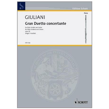 Giuliani, M.: Gran Duetto concertante Op. 52