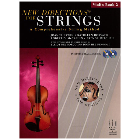 New Directions for Strings - Violin Book 2 (+CD)