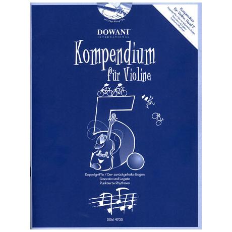 Kompendium für Violine – Band 5 (+CD)