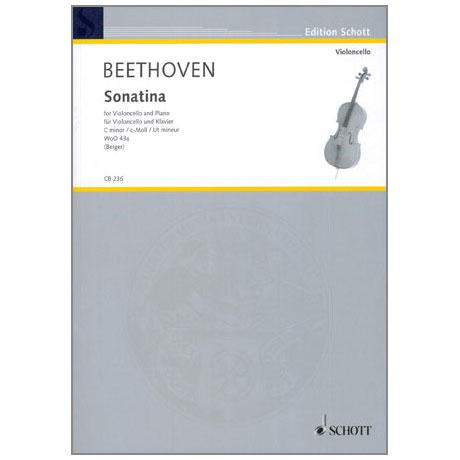 Beethoven, L. v.: Violoncellosonatina WoO 43a c-Moll