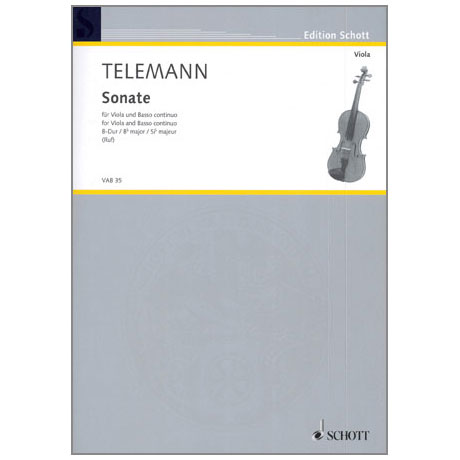 Telemann, G. Ph.: Violasonate B-Dur