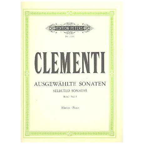 Clementi, M.: Ausgewählte Sonaten Band I