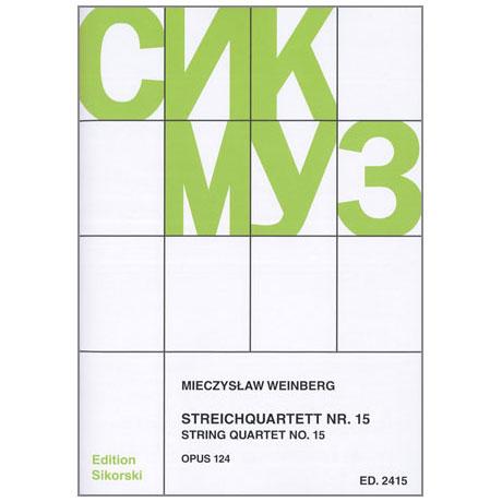 Weinberg, M.: Streichquartett Nr. 15 Op. 124