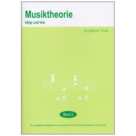 Musiktheorie Klipp und Klar – Band 2