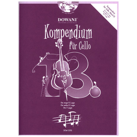 Kompendium für Cello - Band 13 (+ 2 CD's)