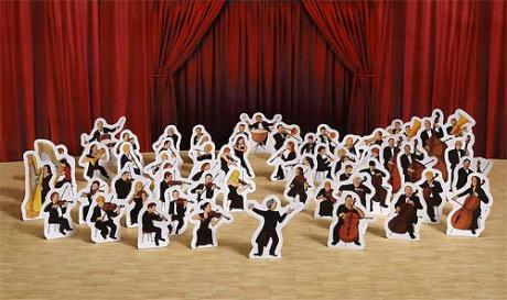 Cut out Symphonic Orchestra