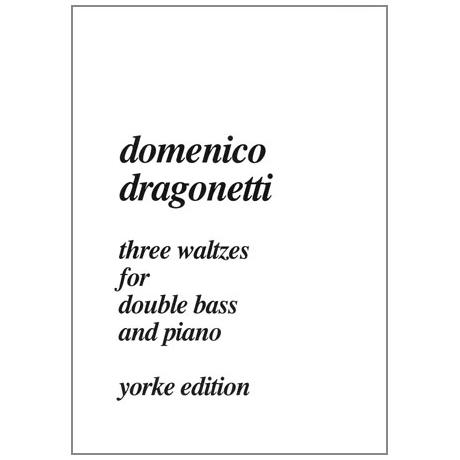 Dragonetti, D.: 3 Walzer