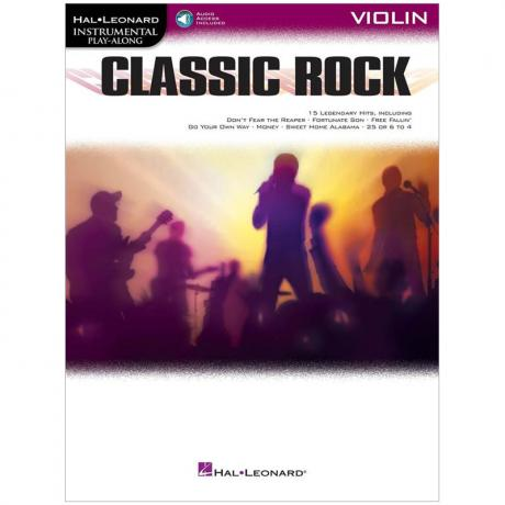 Classic Rock for Violin (+Online Audio)