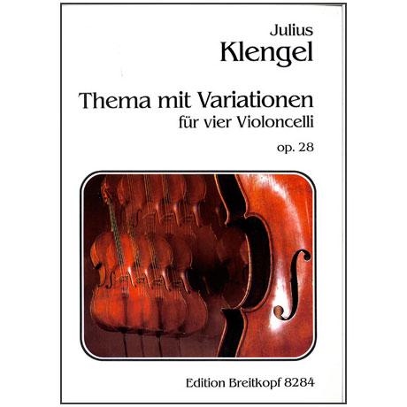 Klengel, J.: Thema mit Variationen Op.28