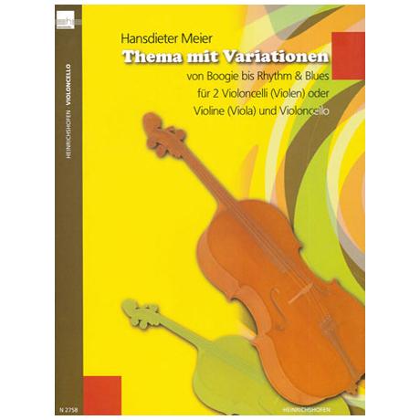 Meier, H.: Thema mit Variationen von Boogie bis Rhythm & Blues