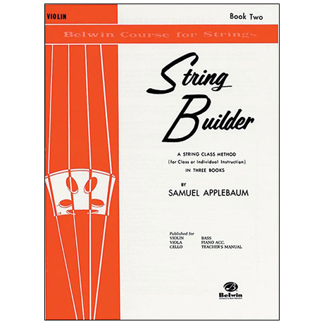 Applebaum, S.: String Builder Book Two – Violin
