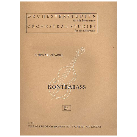 Schwabe / Starke, A.: Orchesterstudien Band 1