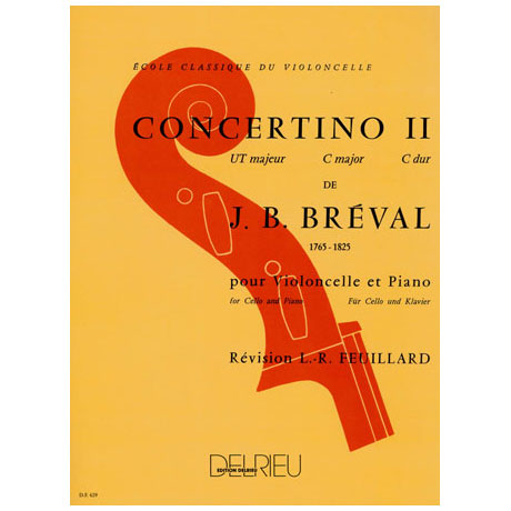 Bréval, J. B.: Concertino Nr. 2 C-Dur