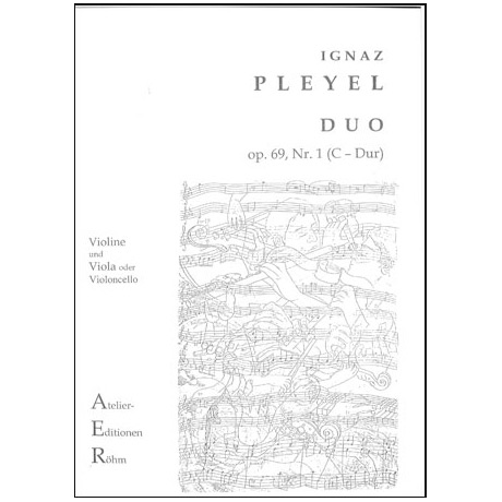 Pleyel, I.: Duo op.69, Nr. 3 in C-Dur