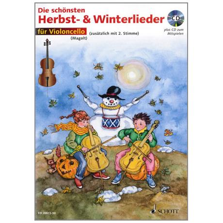 Magolt: Die schönsten Herbst- und Winterlieder (+CD)