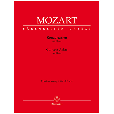 Mozart, W.A.: Konzertarien