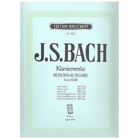 Bach, J. S.: Diverse Suiten
