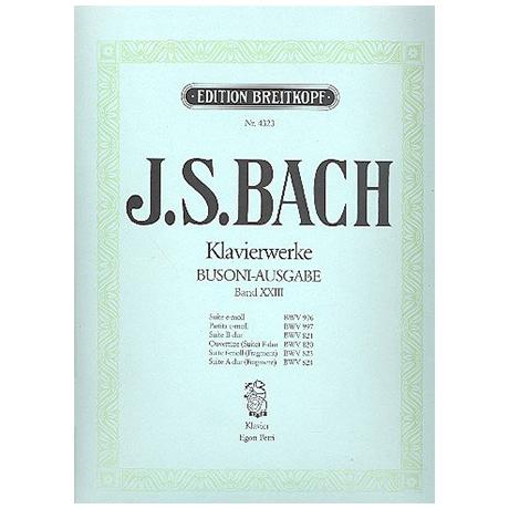 Bach, J. S.: Diverse Suiten