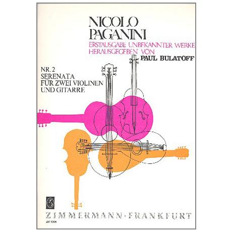 Paganini, N.: Serenata Nr. 2