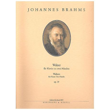 Brahms, J.: Sechzehn Walzer op 39