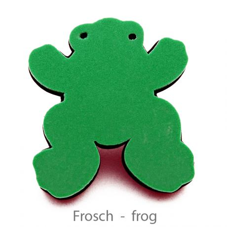 ARTINO Magic Pad Schulterkissen Frosch