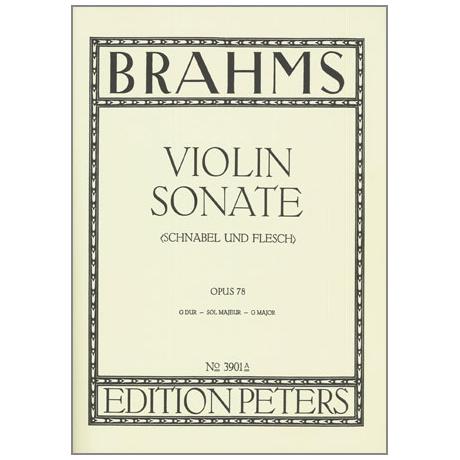 Brahms, J.: Sonate G-Dur Op.78