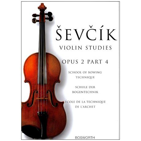 Sevcik, O.: Schule der Bogentechnik Op. 2, Heft 4