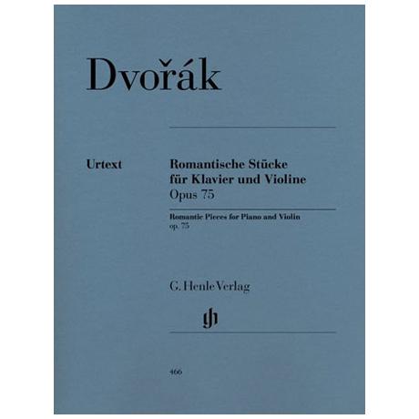Dvořák, A.: Romantische Stücke Op. 75 Urtext
