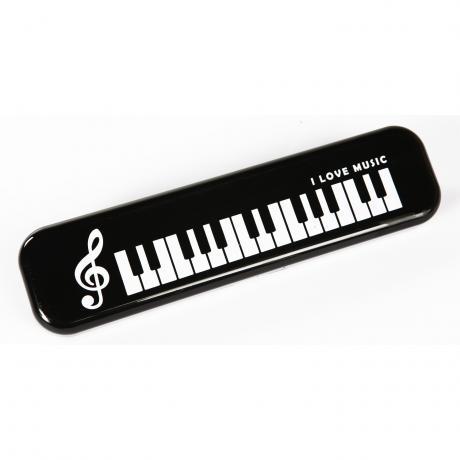 Stiftbox »I love Music« schwarz