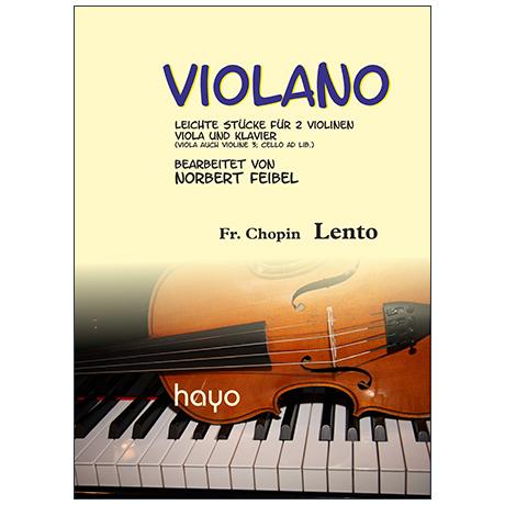 Chopin, F.: Lento nach der Etüde E-Dur