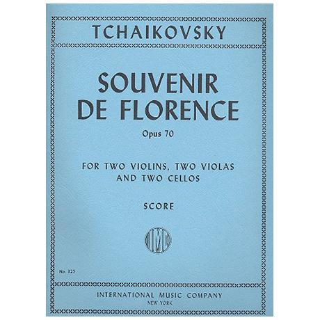 Tschaikowski, P. I.: Souvenir de Florence Op.70