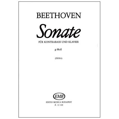 Beethoven, L.v.: Kontrabasssonate g-Moll