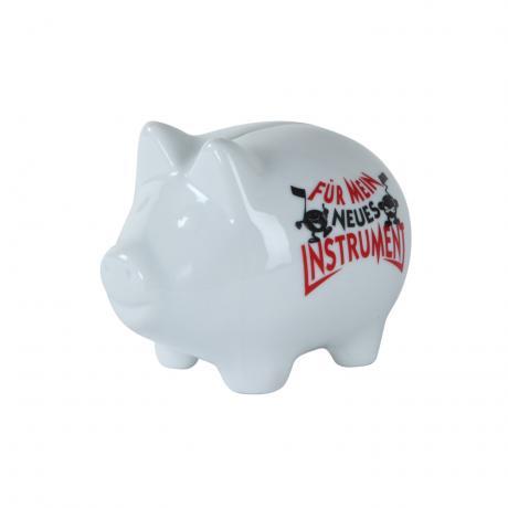Sparschweinchen »Für mein neues Instrument«