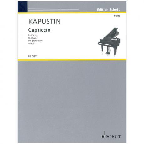 Kapustin, N.: Capriccio Op. 71 (1992)