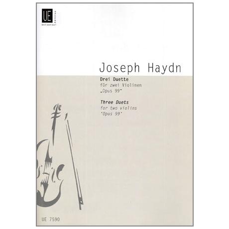 Haydn, J.: 3 Duette Op. 99 Hob. III: 40, 20, 23