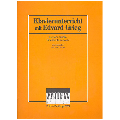 Grieg, E.: Acht lyrische Stücke